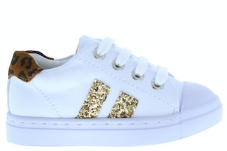 ShoesMe SH21S021-A white gold Meisjesschoenen Sneakers