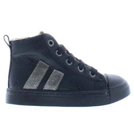 ShoesMe SH21W023-G black snake Booties Booties