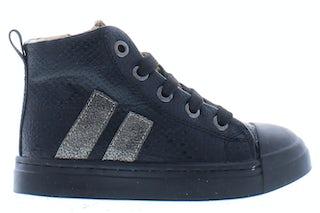 ShoesMe SH21W023-G black snake Meisjesschoenen Booties