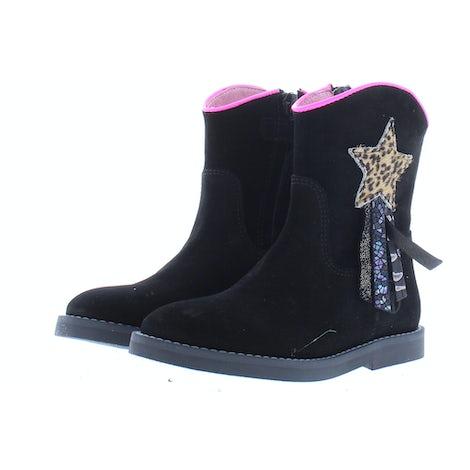 ShoesMe SI21W082-A black Booties en laarzen Booties en laarzen