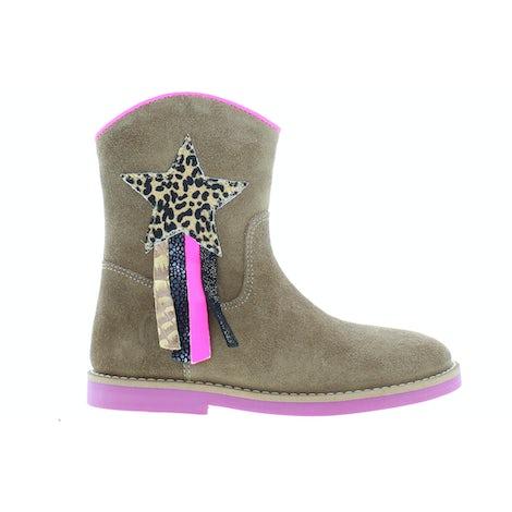 ShoesMe SI21W082-B cognac Booties en laarzen Booties en laarzen