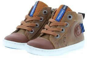 ShoesMe UR20W045-A cognac Jongensschoenen Booties
