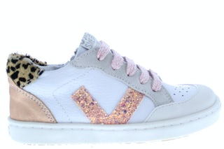 ShoesMe UR21S043-D white rose Meisjesschoenen Sneakers