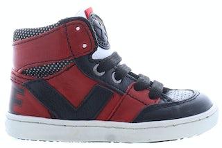 ShoesMe UR21W047-D red black Jongensschoenen Booties