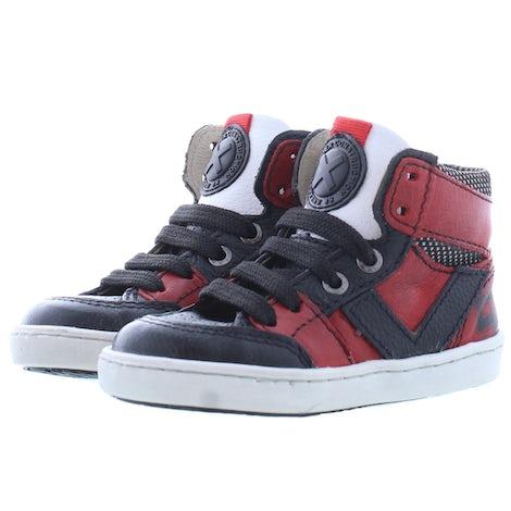 ShoesMe UR21W047-D red black Booties Booties