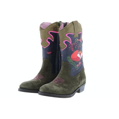 ShoesMe WT20W112-A green Booties en laarzen Booties en laarzen