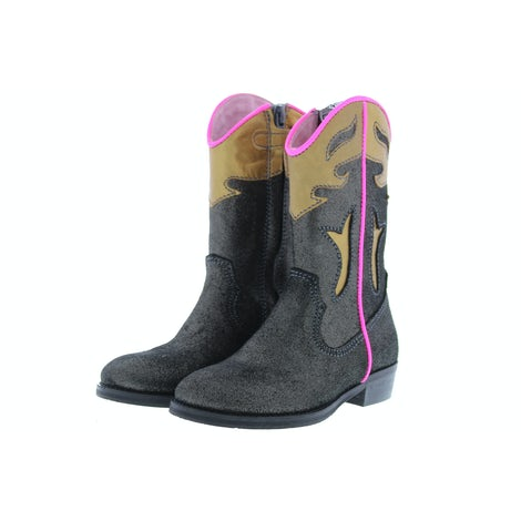 ShoesMe WT20W115-C black metallic Booties en laarzen Booties en laarzen