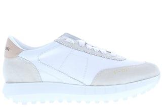 Stokton Vintage-D bianco Damesschoenen Sneakers