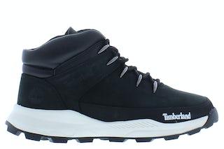 Timberland Brooklyn euro sprint hiker black nubuck Jongensschoenen Booties