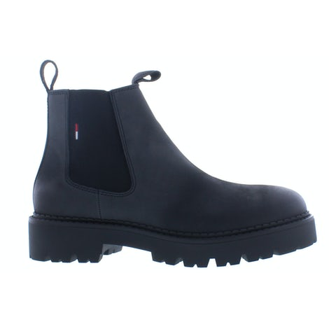 Tommy Hilfiger Chunky chelsea boot 0IO dark ash Boots Boots