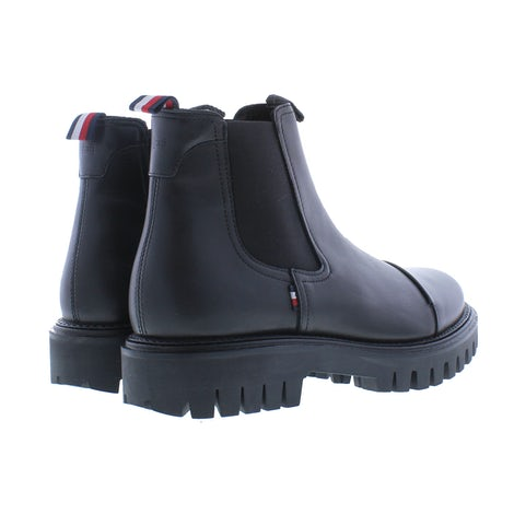 Tommy Hilfiger Chunky dress toecap chelsea BDS black Boots Boots