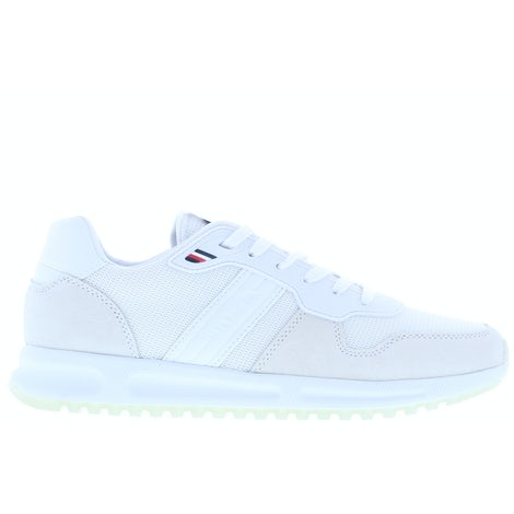 Tommy Hilfiger Modern corporate mix runner YBR white Sneakers Sneakers