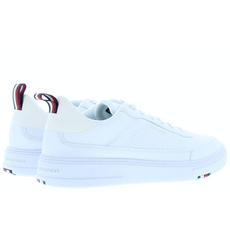 Tommy Hilfiger Modern cupsole leather YBR white Sneakers Sneakers