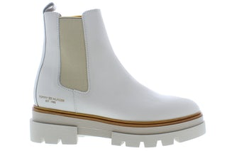 Tommy Hilfiger Monochromatic chelsea boot AF2 white dove Damesschoenen Booties