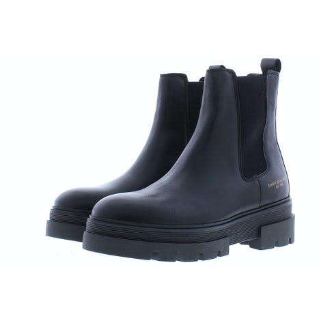 Tommy Hilfiger Monochromatic chelsea boot BDS black Booties Booties