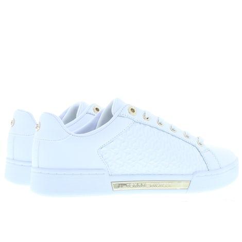 Tommy Hilfiger TH monogram elevated YBR white Sneakers Sneakers