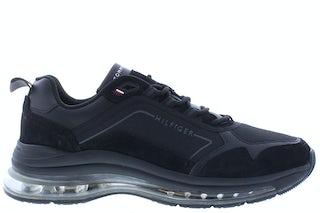 Tommy Hilfiger Air runner premium mix BDS black Herenschoenen Sneakers