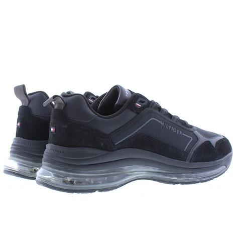 Tommy Hilfiger Air runner premium mix BDS black Sneakers Sneakers