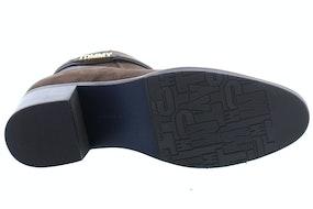 Tommy Hill Block branding suede mid boot GT6 cocoa Damesschoenen Enkellaarsjes