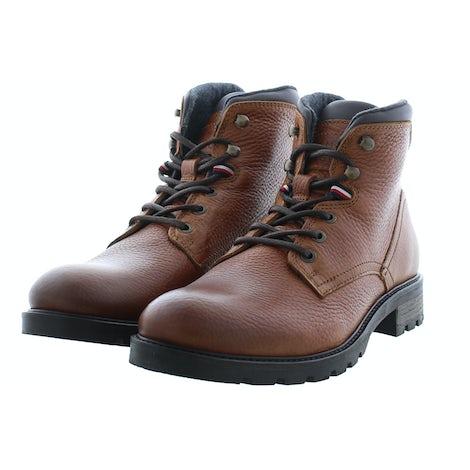 Tommy Hilfiger Classic warm tumble boot GVI winter cogna Herenschoenen Boots