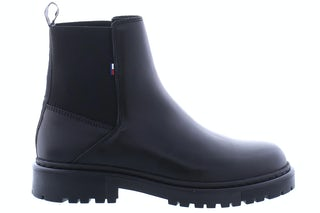 Tommy Hilfiger Essential leather chelsea boot BDS black Damesschoenen Enkellaarsjes