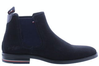 Tommy Hill Signature hilfiger suede chels DW5 dessert sky 260310006 01