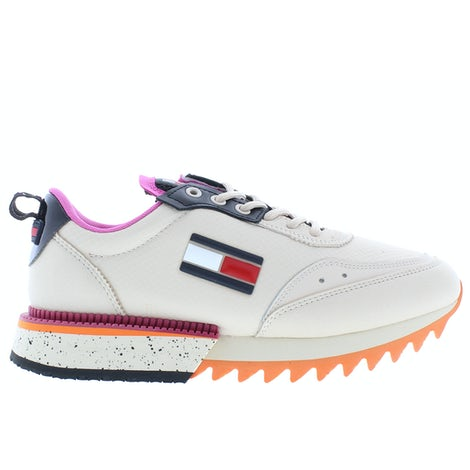 Tommy Hilfiger The cleat ABI smooth Stone Sneakers Sneakers