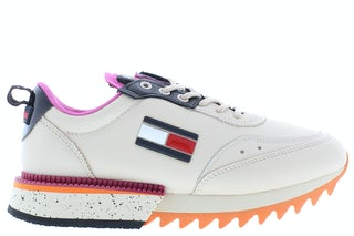 Tommy Hilfiger The cleat ABI smooth Stone Damesschoenen Sneakers