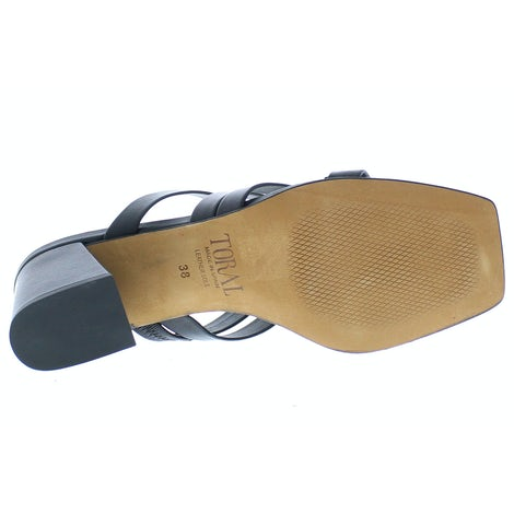 Toral 12672 negro Slippers Slippers