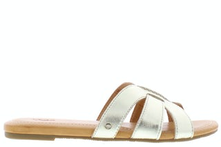Ugg Teague 1119753 GOLD Damesschoenen Slippers