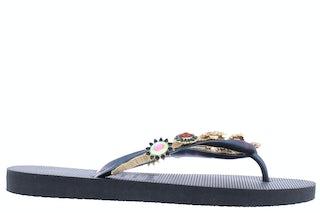 Uzurii Monroe black Damesschoenen Slippers