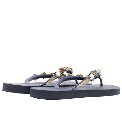 Uzurii Monroe black Slippers Slippers