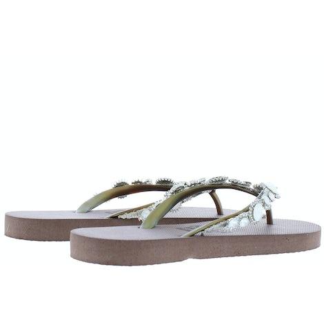 Uzurii Pearl taupe Slippers Slippers