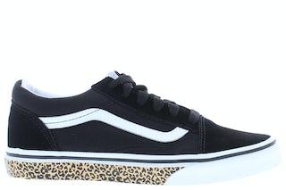 VANS Classics Old Skool black dark olive Meisjesschoenen Sneakers
