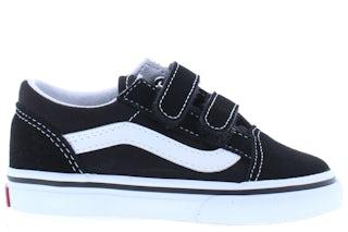 VANS Classics Old skool black true white Jongensschoenen Klittebandschoenen