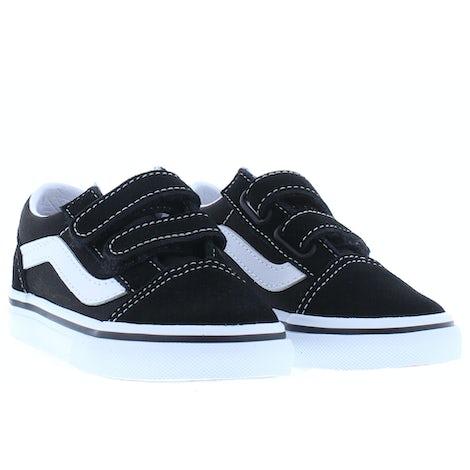 VANS Classics Old skool black true white Klittebandschoenen Klittebandschoenen