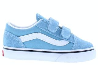 VANS Classics Old skool blue white Jongensschoenen Klittebandschoenen