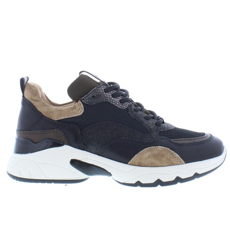 VIA VAI Zaira 57115-01 silba combi bron Sneakers Sneakers