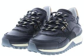 Via Vai 5503065 nero Damesschoenen Sneakers