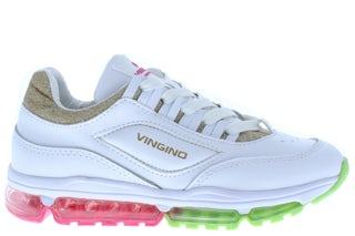 Vingino Fenna 2 1019-01 020 retro white Meisjesschoenen Sneakers