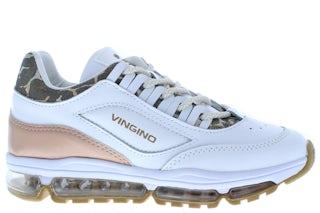 Vingino Fenna 2 1019-02 001 real white Meisjesschoenen Sneakers