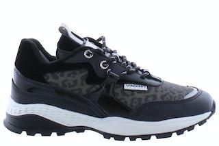Vingino VG421016 grey black Meisjesschoenen Sneakers