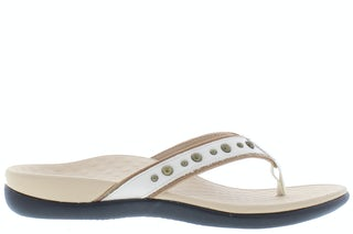 Vionic Vanessa 10012156 cream Damesschoenen Slippers
