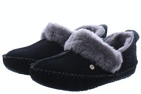 Warmbat Barrine black Damesschoenen Pantoffels