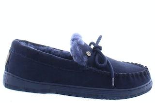 Warmbat Koala dark navy Damesschoenen Pantoffels