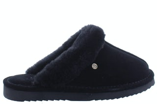 Warmbat Lismore black Damesschoenen Slippers
