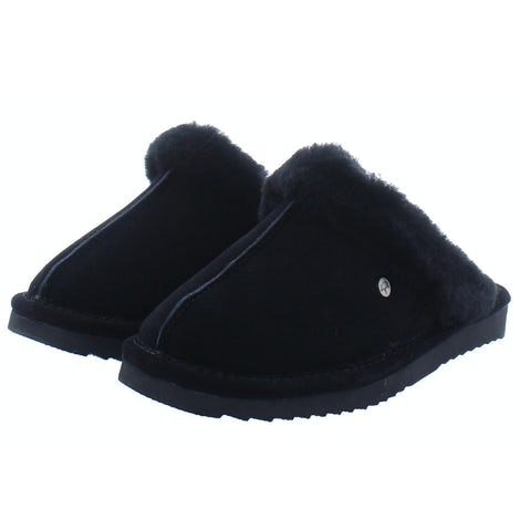 Warmbat Lismore black Slippers Slippers