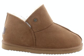 Warmbat Willow 3210 cognac Damesschoenen Pantoffels