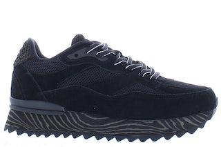 Woden Sophie marbel 020 black Damesschoenen Sneakers