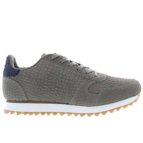 Woden Ydun croco II 295 dark olive Sneakers Sneakers